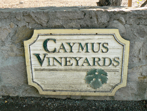 Caymus-sign
