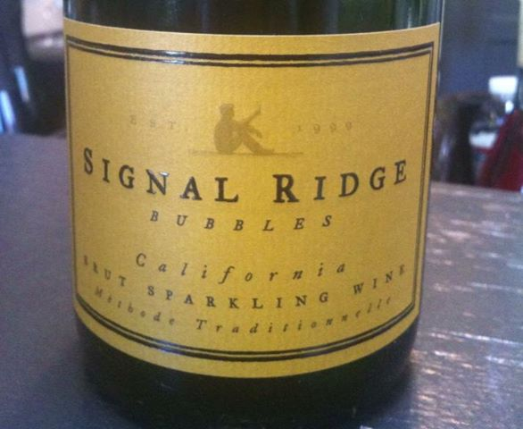 signal ridge bubbles