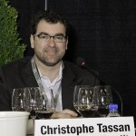 Christophe Dassan moderated a panel on Rhone wines