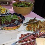 Olives and Grapes - at the Hospice du Rhone Rosé Lunch