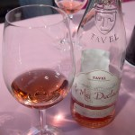 Glass of Tavel Rosé - A glass of rosé from the Tavel AOC which makes only rosé wines.