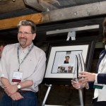 Patrick Will Receives Hospice du Rhone Award -  'Person of the Year Award' presented by HdR Director Vicki Carroll