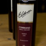 2006 Elderton Shiraz Command Single-Vineyard - One of the wines I rated most highly at the media/trade self-pour tasting