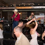 Dancing at Hospice du Rhone - Twisting the night away at Hospice du Rhone's Farewell BBQ