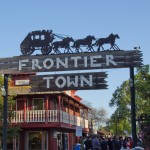 Frontier Town - Paso Robles Fairgrounds' Frontier Town adds a unique and charming ambience to Hospice du Rhone activities